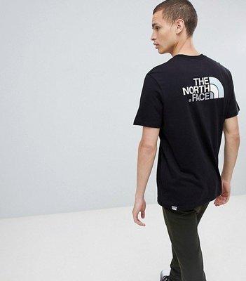 【Shopa】現貨 特價 THE NORTH FACE Easy 前後 彩色 logo 短袖 T恤 黑 台北市