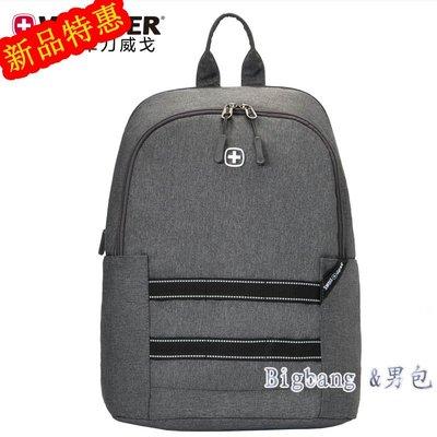 [bigbang&男包]BBHA.284新款後背包Wenger/威戈SWISS GEAR創想家系列休閒背包13英寸電腦包