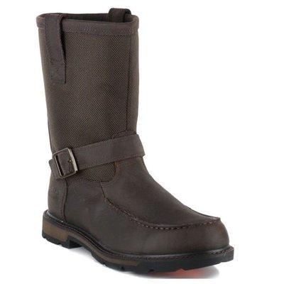 【幫你買】男靴 Ariat Men's Groundbreaker H2O Moc Toe Work Boots 10016254