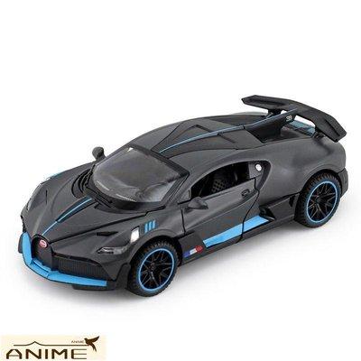 ∞Anime∞1/32布嘉迪迪沃合金汽車模型回力聲光兒童玩具車仿真金屬跑車收藏