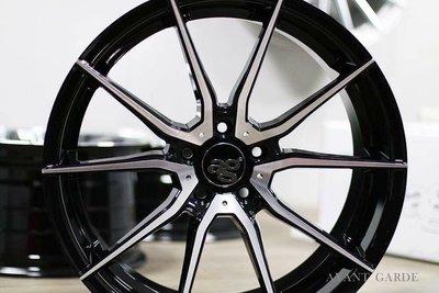 ag m652 19吋5孔120黑底車面旋壓輕量鋁圈~WORK OZ BBS RAYS BMW 新北市