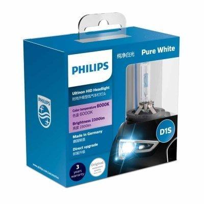 正品 PHILIPS飛利浦 德國製 D1S 燈泡 BMW 730d 740i F01 F02  6000K 商業原廠包裝