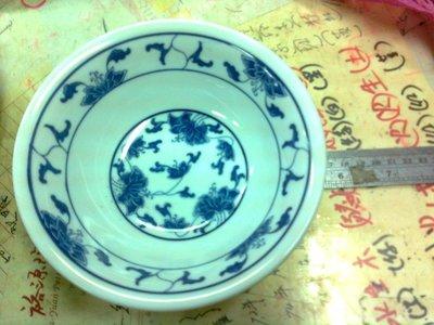 陶瓷賣場-大同青花瓷大湯碗 羹盤深盤