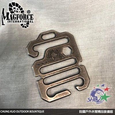 詮國 - MAGFORCE 馬蓋先 MAGTUSK 雙開口可調式萬用鉤 / 4個販售 / T8004