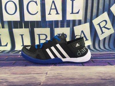 D-BOX  Adidas CLIMACOOL BOAT LACE GRAPHIC BOOST 溯溪鞋 男款 黑寶藍