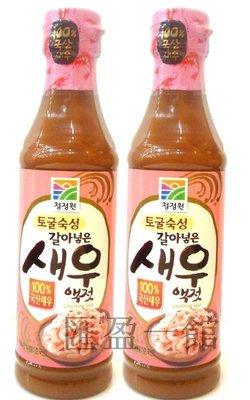 韓國順昌蝦醬 500g/韓國蝦露韓國泡菜韓式泡菜涼拌菜~提鮮好味道 ~現貨