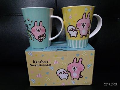 卡娜赫拉的小動物 馬克杯 全新(聯電股東會紀念品)--二入一盒100元