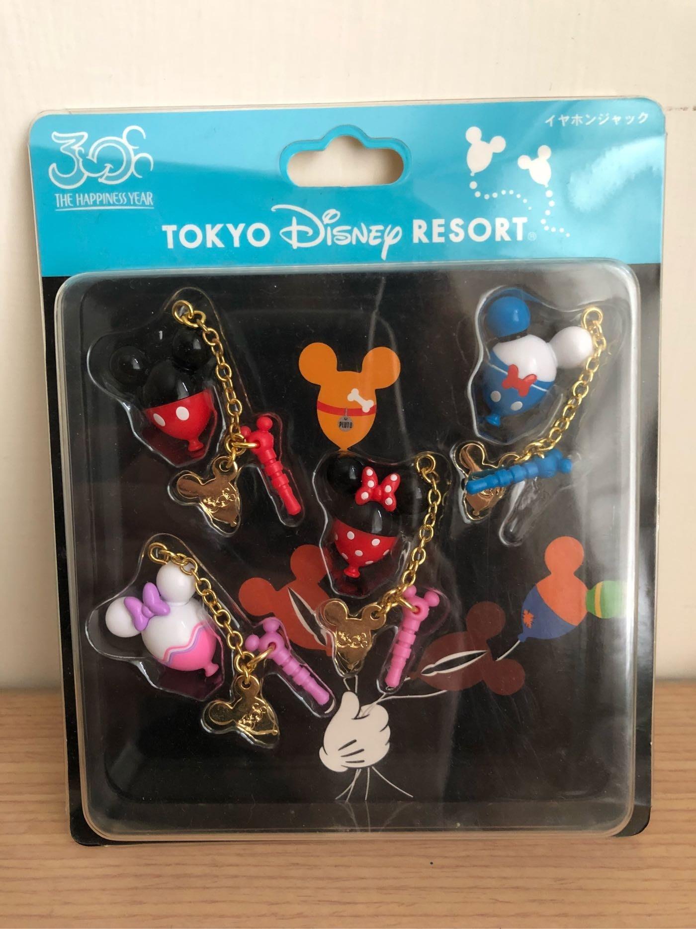 J.M.好物 東京迪士尼30週年限定 手機吊飾 Disneyland 米奇 米妮 黛絲 唐老鴨