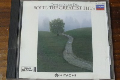 London-Hitachi-Demonstration Disc Solti/The Greatest Hits-日版