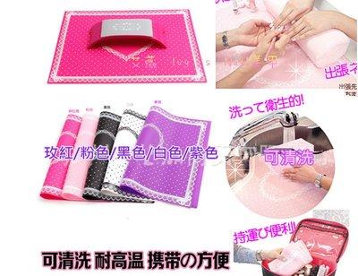 艾薇 Ivy's Nail美甲批發╭*美甲矽膠桌墊 日本同款波點蕾絲可水洗桌墊 S號(不含 手枕)