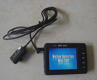 過商檢㊣紅鼻子 搖控啟動 鈕扣針孔CCD鏡頭攝影機2.5吋DVR監視器行車紀錄器 台北市