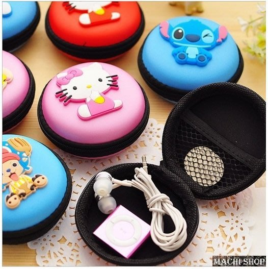 【部份現貨】日韓流行 可愛卡通小零錢包  迷你收納 耳機包 鑰匙盒 [ MACHI SHOP ]