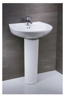 東城浴室整修.凱撒面盆LP-2220S  破裂換新 更換.換裝、改造、翻修、 完工圖片