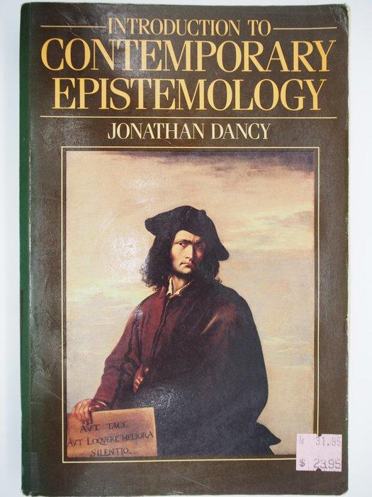 【月界二手書店】Introduction to Contemporary Epistemology 〖哲學〗AGC
