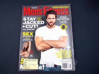 【懶得出門二手書】 全新英文雜誌《Men's Fitness》STAY JACKED +CUT!│ (21C21)