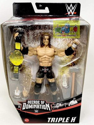 ☆阿Su倉庫☆WWE摔角 Triple H Decade of Domination Elite HHH限定精華版人偶