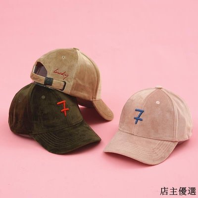 韓國絲絨帽子女秋冬潮人嘻哈棒球帽韓版保暖百搭字母刺繡鴨舌帽男