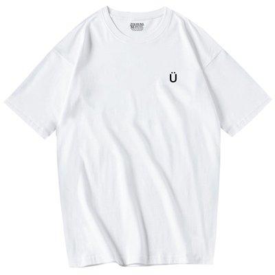 雖然是精神病但沒關係金秀賢同款字母印花短袖T恤
