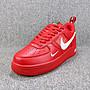 Nike Air Force 1 Low AF1 紅白 經典 字母 低幫 休閒滑板鞋 男女鞋 AJ7747-600
