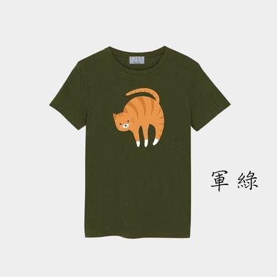T365 MIT 親子裝 T恤 童裝 情侶裝 T-shirt 短T 貓 小貓 貓咪 喵星人 cat 喵喵 kitty 4
