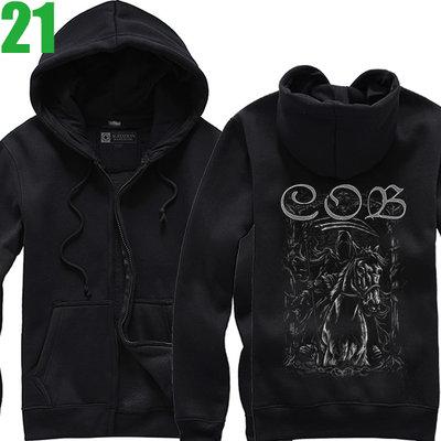 Children Of Bodom【死神之子】連帽厚絨長袖重金屬搖滾樂團外套 新款上市購買多件多優惠!【賣場七】