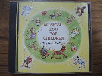 MWM◎【二手CD】Musical Zoo For Children 無ifpi,有些許刮痕但不影響讀取