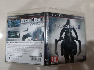 收藏品 二手 PS3 末世騎士 2 Darksiders2 亞美版 直購價350元
