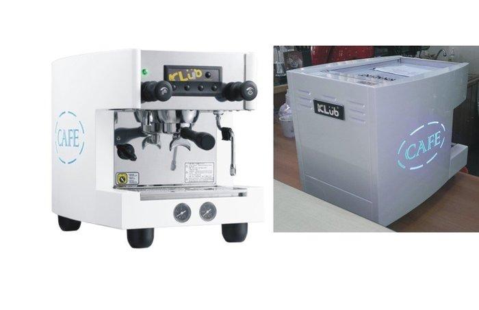 半自動咖啡機- KLUB F2 營業用小單孔110v/220v 輕巧 美觀 不占空間--【良鎂咖啡精品館】