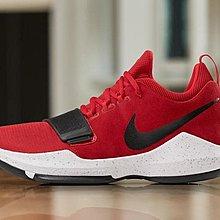 """球鞋瘋 NIKE PG 1 """"UNIVERSITY RED"""" 大學紅 男 籃球鞋 878628-602"""