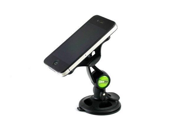 全新 GRIPGO 通用黏貼式 汽車固定架 GPS車架 導航車架 手機車架 蝴蝶機 IPHONE5 A6