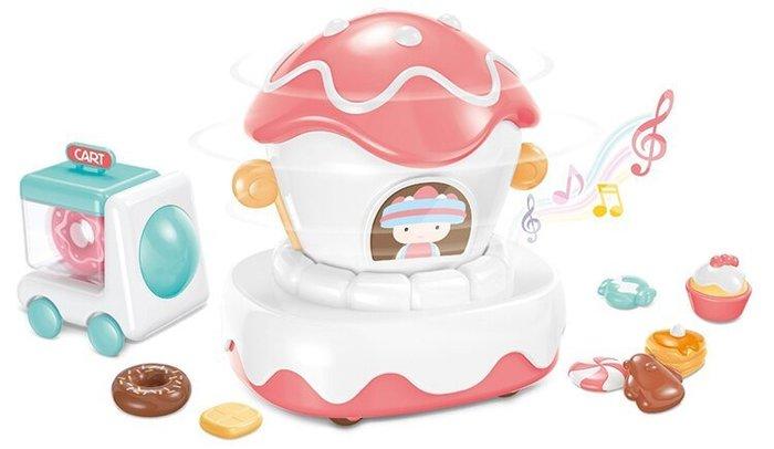 ☆天才老爸☆→【智博】Mini Candy 糖果計劃系列 - 蛋糕巡遊花車 糖果計劃 糖果計劃 扮家家酒 角色扮演 廚房