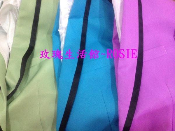 【演出show】~ 彩色西裝套裝(2件套) 正常標準版 one size 均碼(西裝上衣、長褲)現貨