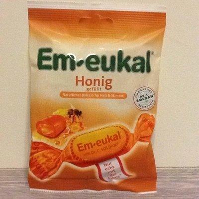全館699免運費 德國 Em-Eukal潤喉糖-蜂蜜