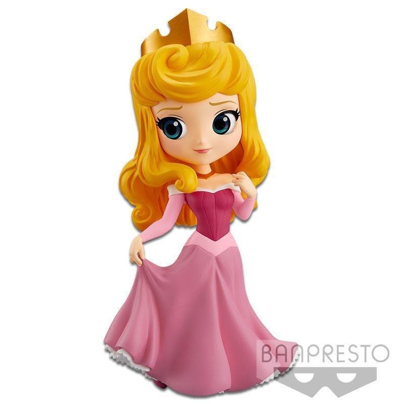 日本正版 代理 景品 Q posket 禮服 睡美人 公主 迪士尼