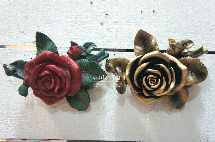 ~*歐室精品傢飾館*~鄉村風格 INS 立體 冷瓷 仿真 紅 玫瑰 花朵 花牆 壁飾 牆面 布置 居家 民宿~新款上市~