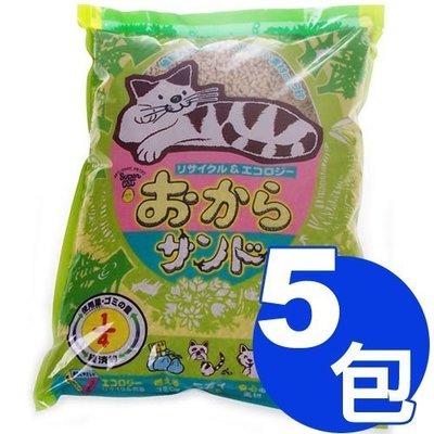 【寵物王國-貓館】韋民超級A豆腐貓砂7L x5包超值免運組合