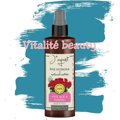 Jayanti ECO Organic Cosmetics Rose Hydrosol Anti-Age&Toning Water有機玫瑰抗老緊緻鎮靜花露化妝水
