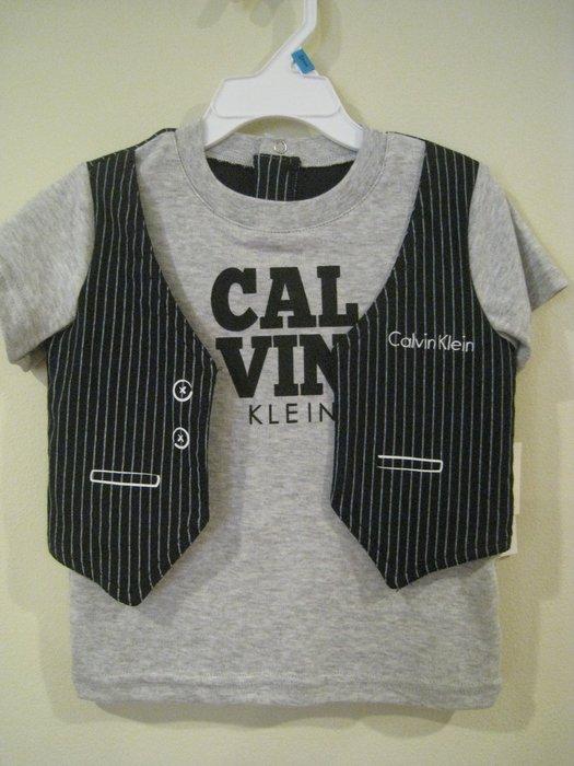 Calvin Klein 男童休閒套裝 18M