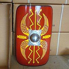 仿古羅馬軍團彩繪盾牌COSLAY道具家居壁掛壁飾酒吧牆上裝飾工藝品