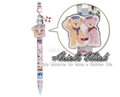 Ariel's Wish-日本東京迪士尼Duffy達菲熊Shelliemay雪莉玫Disney夏季海軍立體自動鉛筆自動筆
