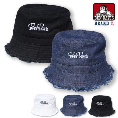【Brand T】免運 BEN DAVIS DAMEGE BROKEN BRIM HAT 不收邊 漁夫帽 BD064