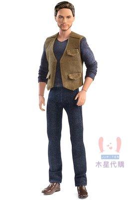 【木星代購】《美國代購 Barbie 侏儸紀世界 歐文 1/6 芭比娃娃 預購》電影侏羅紀公園殞落國度恐龍可動公仔人形