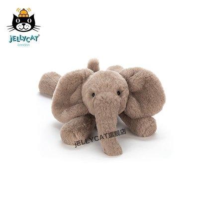 動漫手辦社玩偶公仔jELLYCAT英國Smudge小象陪伴寶寶安撫玩具毛絨玩偶公仔