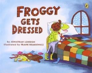 *小貝比的家*FROGGY GETS DRESSED/平裝/3~6歲/自主管理