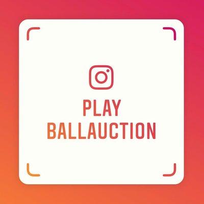 新創iG, 歡迎掃描追蹤playballlauction