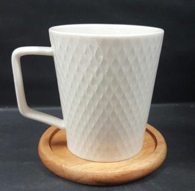 【無敵餐具】陶瓷網狀造型馬克杯(250cc) 馬克杯/啤酒杯/拿鐵杯 量多歡迎來電詢價【A0229】