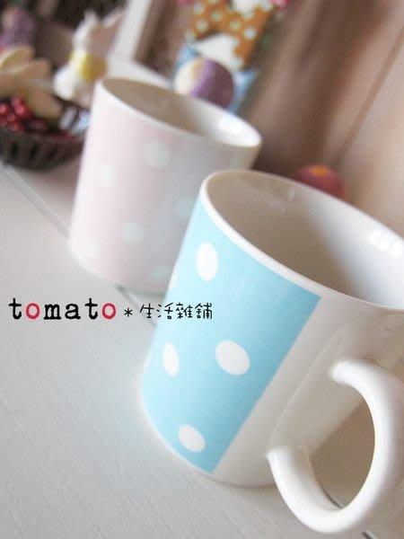 ˙TOMATO生活雜鋪˙日本進口雜貨水玉點點圖樣馬克杯(出清)
