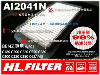 【HL】BENZ W204 C220 C280 鼓風機濾網 室外進氣濾網 室外濾網 另有 原廠 型 冷氣濾網 空氣濾芯