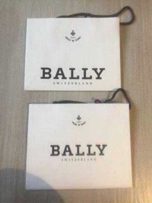 原裝【Bally】白色紙袋 paper bag 20 x 25 x 10 cm (100%新) 每個$20