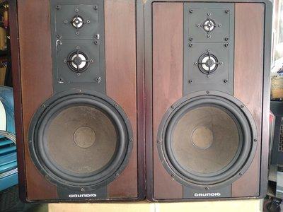 西德製 歌蘭帝 Grundig monolith 8500 經典三音路封閉式喇叭 鋁膜高音,鋁膜饅頭中音